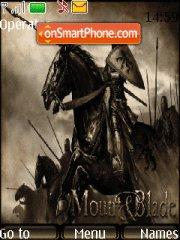 Mount and Blade es el tema de pantalla