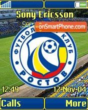 FC Rostov K750 theme screenshot