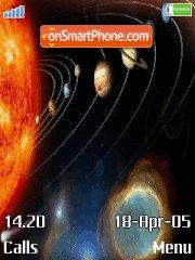 Solar-system es el tema de pantalla
