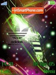 Adidas galaxy theme screenshot