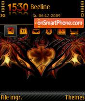 Tribal Heart 01 es el tema de pantalla