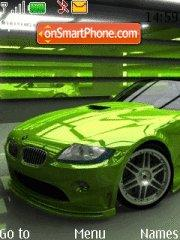 Green BMW theme screenshot