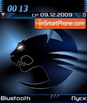 Roccat Kone Blue es el tema de pantalla