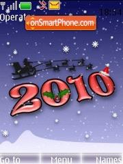 Happy New Year 2010 theme screenshot