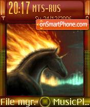 Flames Of Fate theme screenshot