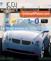 BMW 01 es el tema de pantalla
