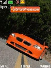 Bmw Z4 M Coupe theme screenshot