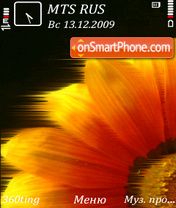 Flower by altvic theme screenshot