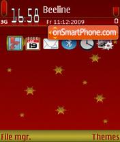 RedChristmas 01 es el tema de pantalla