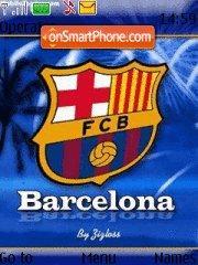 Fc Barcelona 08 theme screenshot