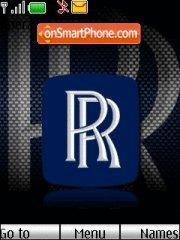 Rolls Royce Logo theme screenshot