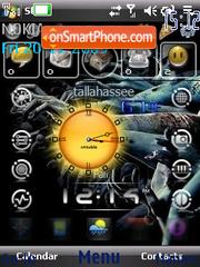 Technology Swf theme screenshot