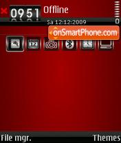Blood 02 theme screenshot