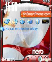 Nero theme screenshot