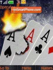 Poker es el tema de pantalla