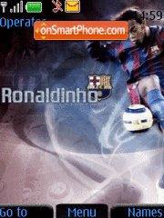 Ronaldinho es el tema de pantalla