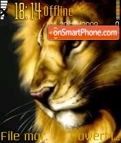 Lion 07 theme screenshot