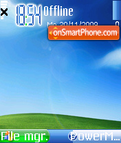 Xp With Arrow Cursor theme screenshot