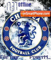 Chelsea 2017 theme screenshot