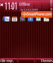 Wine M theme screenshot