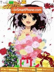 Haruhi new year theme screenshot