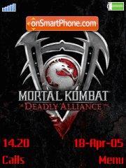 Mortal Kombat Deadly Alince es el tema de pantalla