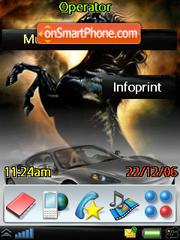 Ferrari-power theme screenshot