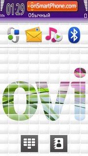 Ovi 01 theme screenshot