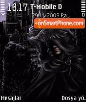 King Of Ghost theme screenshot