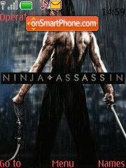Ninja Assassin es el tema de pantalla