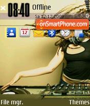 Music Adrenaline es el tema de pantalla