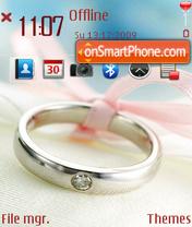 Wedding Ring es el tema de pantalla