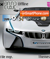 Bmw Concept 03 theme screenshot