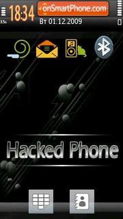 Hacked Phone es el tema de pantalla