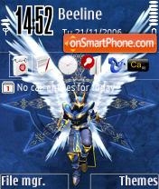 Dark Wizard theme screenshot
