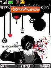 Emo Love theme screenshot