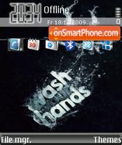 Wash Your Hands es el tema de pantalla