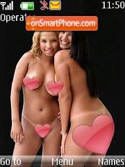 Brazilian Babes theme screenshot