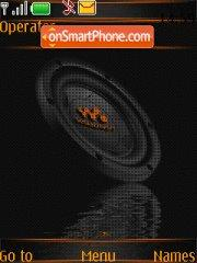 Capture d'écran Walkman thème