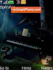 Grand piano theme screenshot