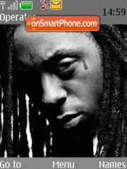 Lil Wayne theme screenshot