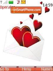 Love Message theme screenshot