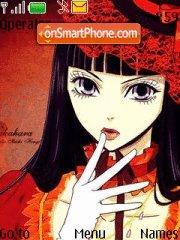 Nakahara Sunako (Yamato Nadesiko Sichi Henge) es el tema de pantalla