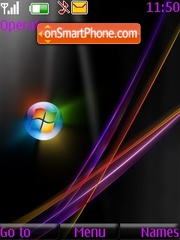 Win 7 Nokia theme screenshot
