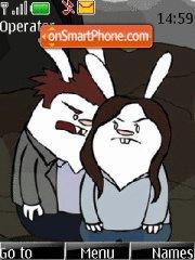 Twilight (with bunnies) theme screenshot