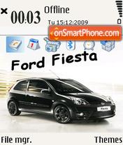 Ford fiesta 01 es el tema de pantalla