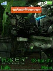 Star Wars Republic Commando es el tema de pantalla