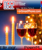 Winter celebration es el tema de pantalla