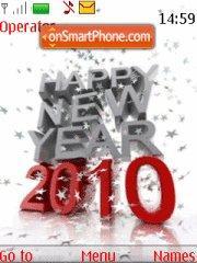 2010 New Year es el tema de pantalla