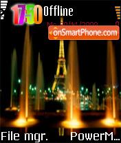 Eiffel Tower 07 es el tema de pantalla